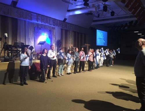 Bibelskolan firade Finlands 100:e nationaldag